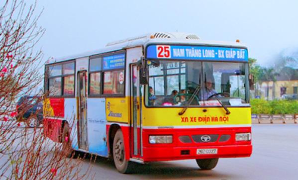 Xe buýt Hà Nội: Lộ trình xe bus 25 đi BV Nhiệt Đới Trung Ương cơ sở 2 - Ảnh 1.