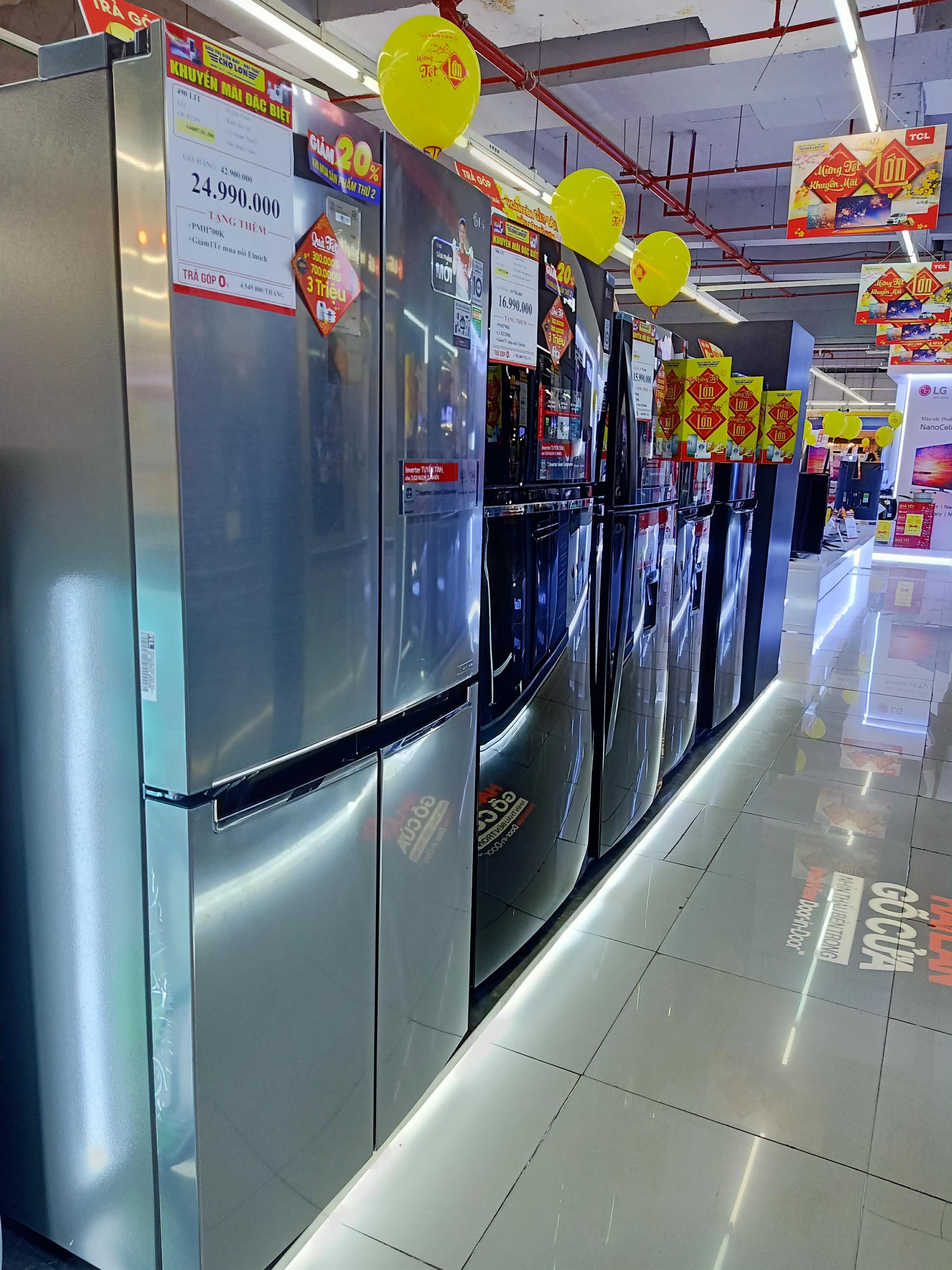 Điện lạnh giảm giá: Tủ lạnh có nhiều chương trình khuyến mãi khi nhu cầu dự trữ thức ăn tăng lên - Ảnh 1.