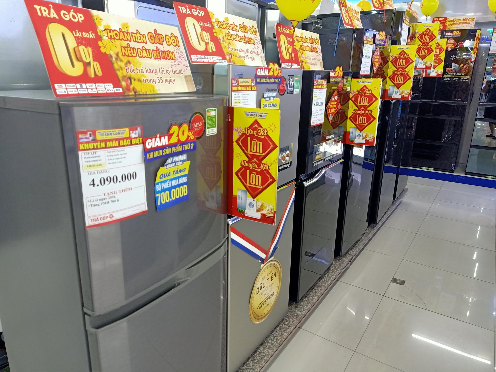 Điện lạnh giảm giá: Tủ lạnh có nhiều chương trình khuyến mãi khi nhu cầu dự trữ thức ăn tăng lên - Ảnh 2.