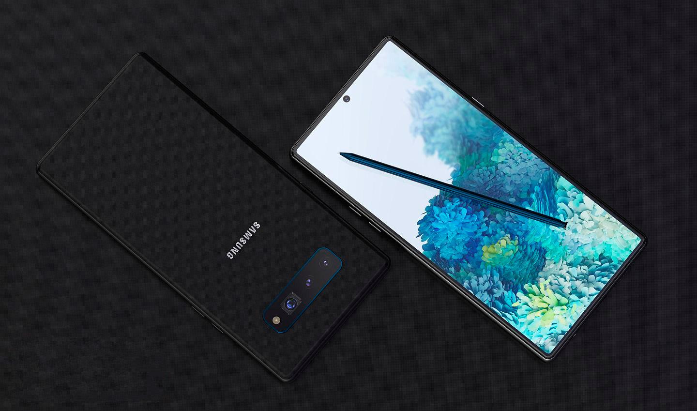 Lạ mắt với concept điện thoại 5G Samsung Galaxy Note 20 theo phong cách camera Note 8 - Ảnh 2.