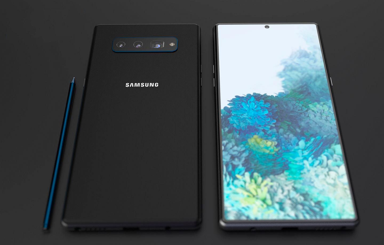 Lạ mắt với concept điện thoại 5G Samsung Galaxy Note 20 theo phong cách camera Note 8 - Ảnh 3.
