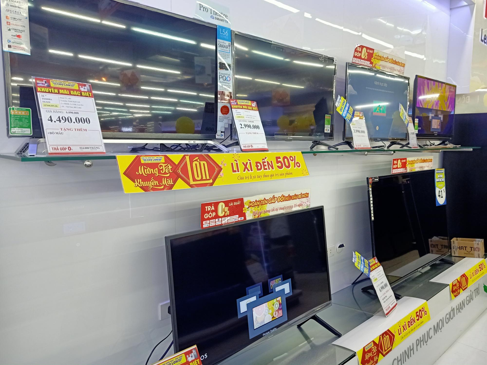 Tivi giảm giá tuần này: Nhiều khuyến mãi cho các loại sản phẩm khác nhau - Ảnh 1.