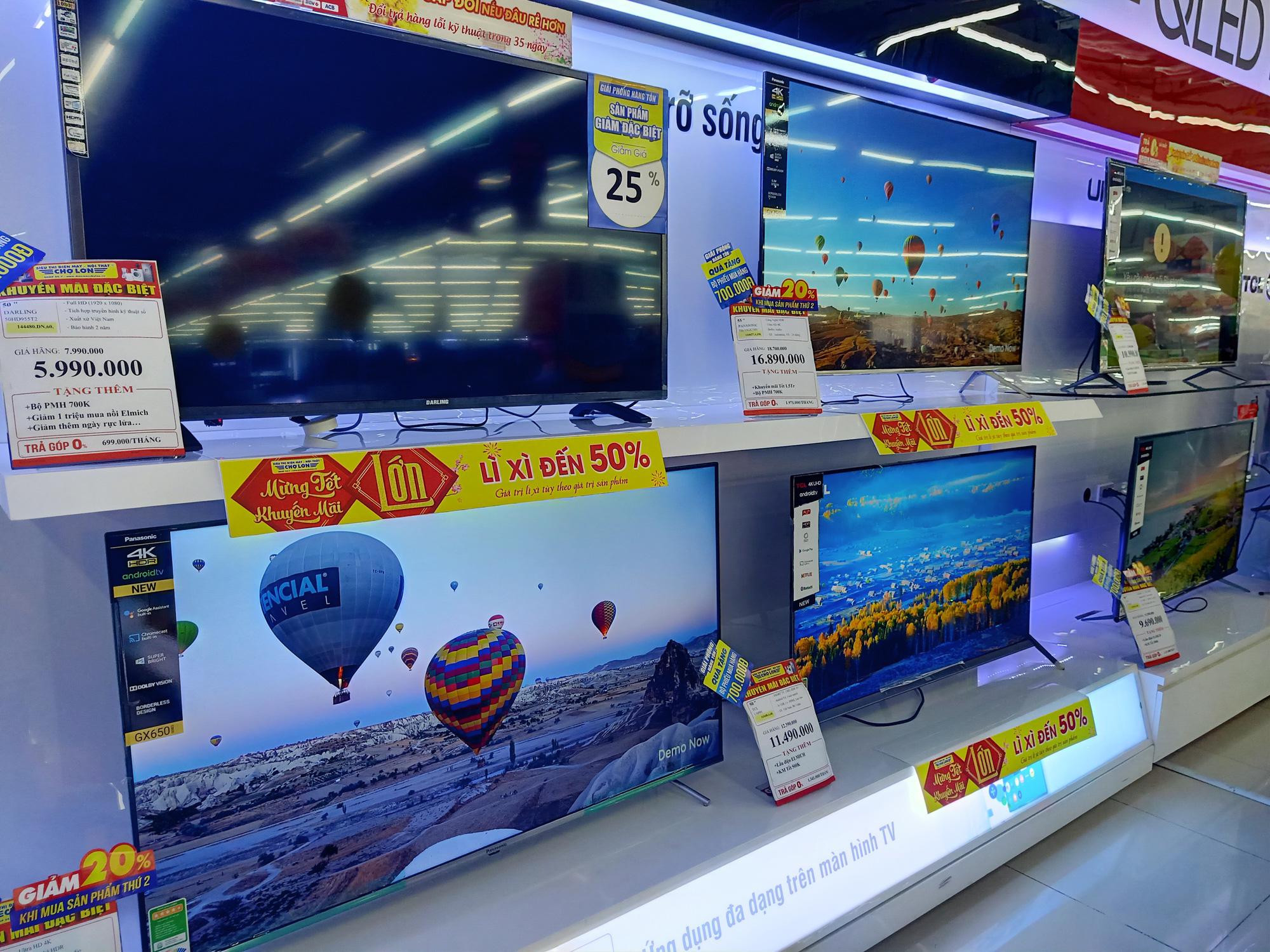 Tivi giảm giá tuần này: Nhiều khuyến mãi cho các loại sản phẩm khác nhau - Ảnh 2.