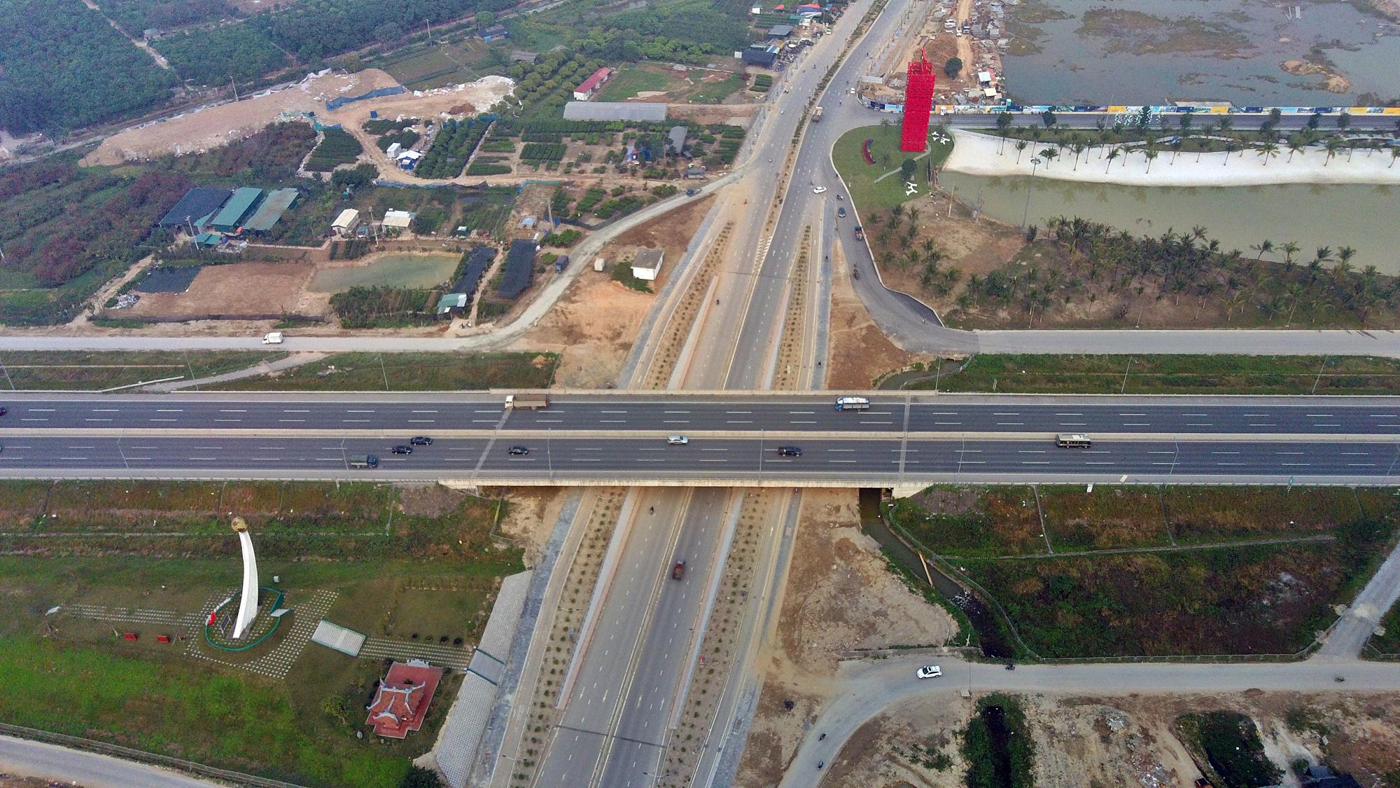 Chuẩn bị lên quận, hạ tầng giao thông huyện Gia Lâm đang thay đổi 'chóng mặt' - Ảnh 12.