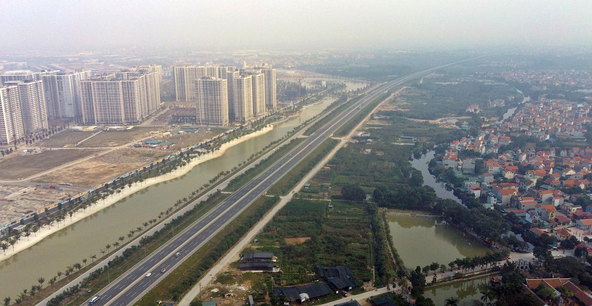 Chuẩn bị lên quận, hạ tầng giao thông huyện Gia Lâm đang thay đổi 'chóng mặt' - Ảnh 14.