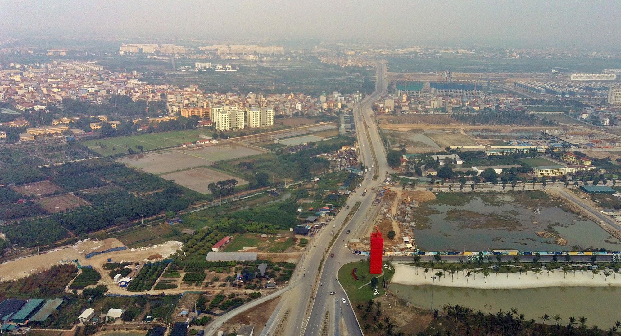 Chuẩn bị lên quận, hạ tầng giao thông huyện Gia Lâm đang thay đổi 'chóng mặt' - Ảnh 8.