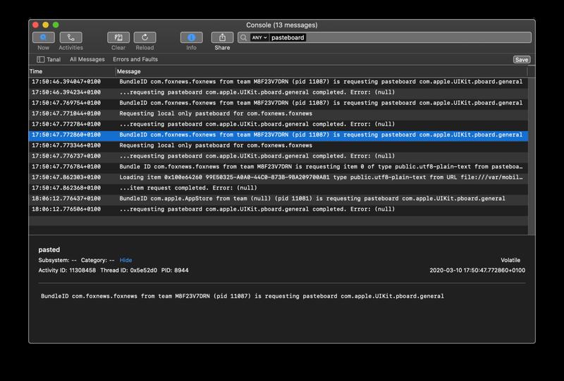 """Phát hiện các ứng dụng trên iPhone, iPad """"rình mò"""" dữ liệu trên Pasteboard - Ảnh 2."""