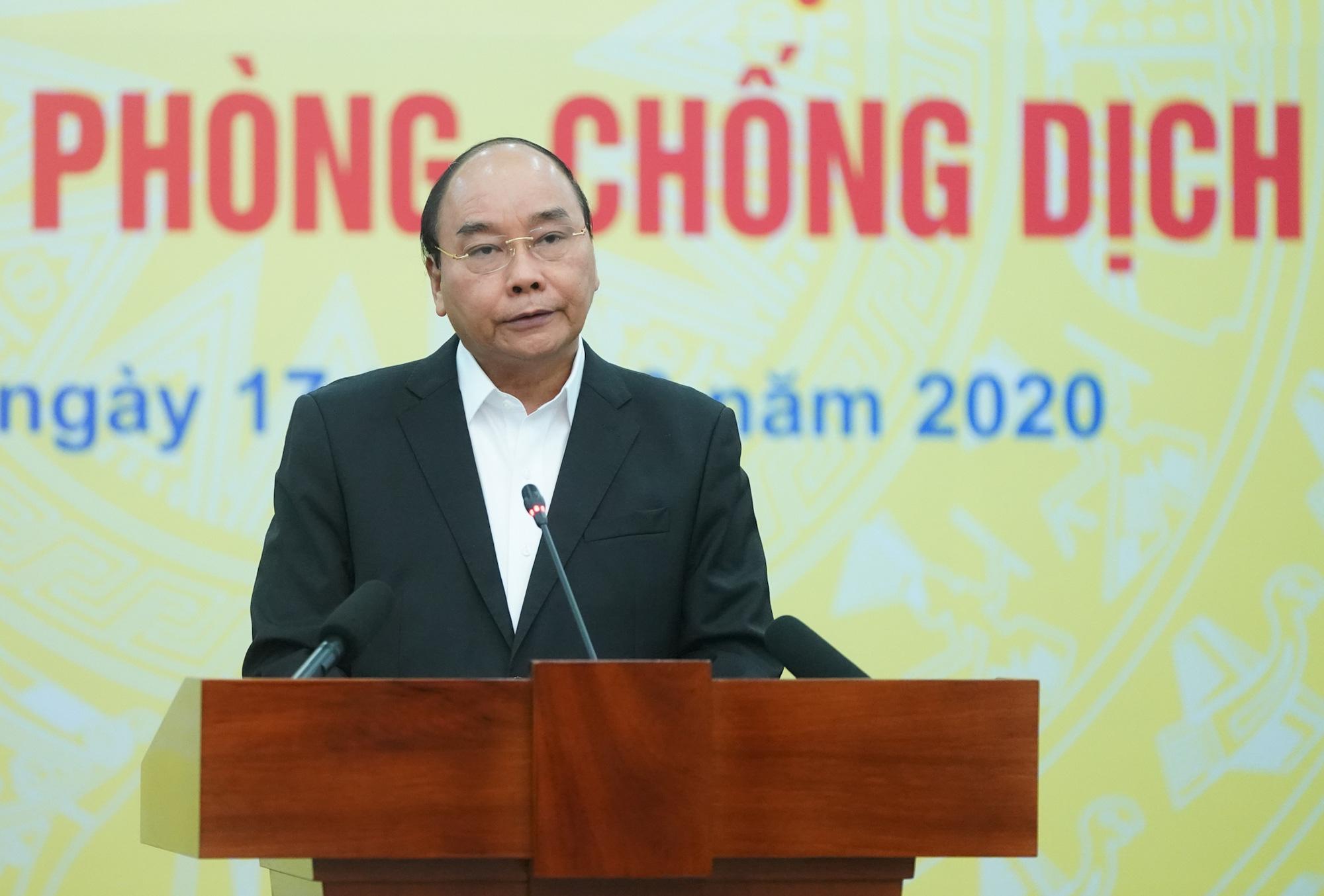 Thủ tướng kêu gọi toàn dân góp sức, tùy khả năng ủng hộ, đóng góp phòng, chống đại dịch Covid-19 - Ảnh 1.