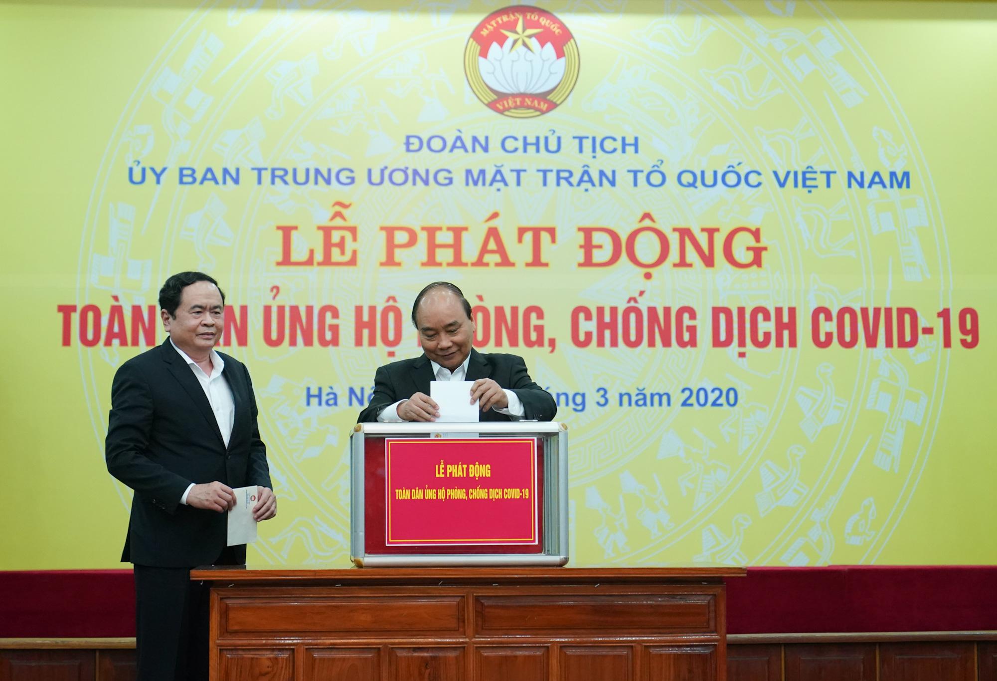 Thủ tướng kêu gọi toàn dân góp sức, tùy khả năng ủng hộ, đóng góp phòng, chống đại dịch Covid-19 - Ảnh 2.