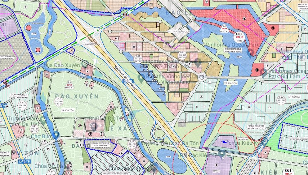 Chuẩn bị lên quận, hạ tầng giao thông huyện Gia Lâm đang thay đổi 'chóng mặt' - Ảnh 13.