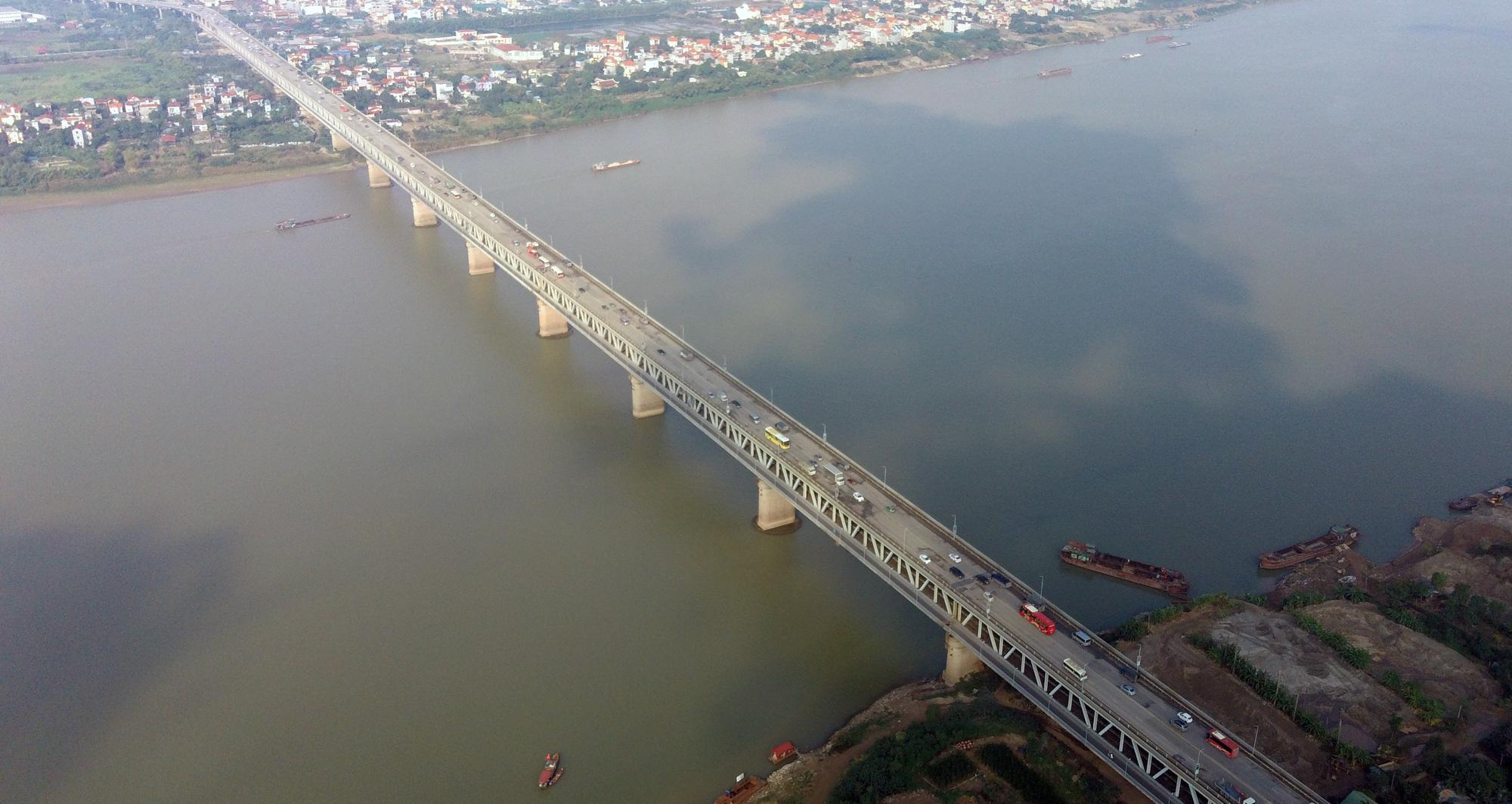 Xây cầu Vĩnh Phú qua sông Lô nối tỉnh Vĩnh Phúc với Phú Thọ - Ảnh 1.