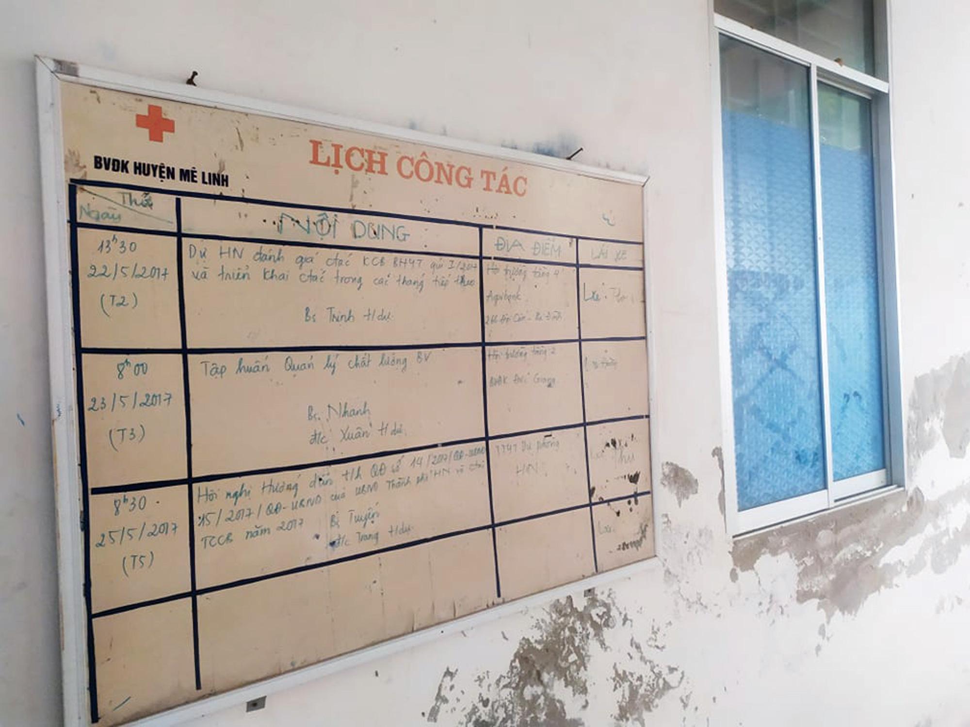 Sửa bệnh viên bỏ hoang ở Mê Linh để làm khu cách li chống dịch Covid-19 - Ảnh 6.