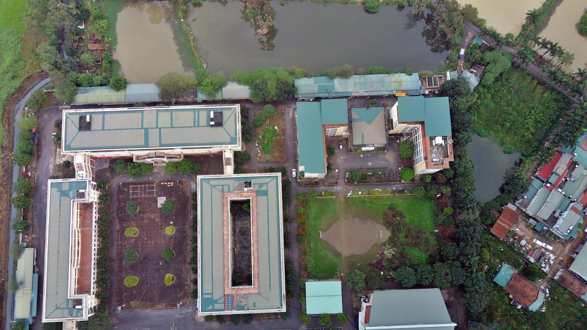 Cận cảnh khu cách li tập trung cho 800 người ở trường Cao đẳng nghề Công nghệ cao Hà Nội - Ảnh 3.