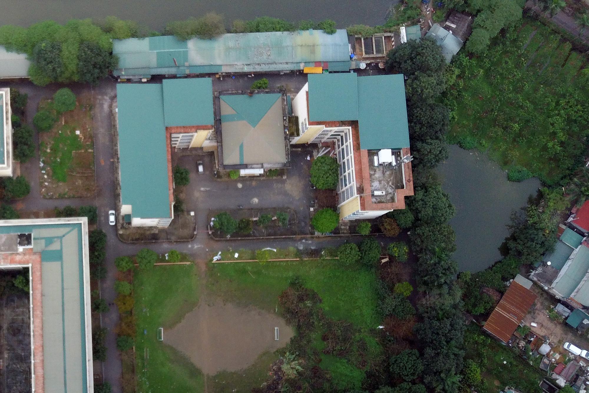 Cận cảnh khu cách li tập trung cho 800 người ở trường Cao đẳng nghề Công nghệ cao Hà Nội - Ảnh 4.