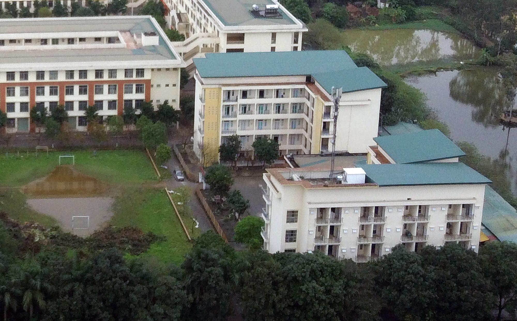 Cận cảnh khu cách li tập trung cho 800 người ở trường Cao đẳng nghề Công nghệ cao Hà Nội - Ảnh 5.