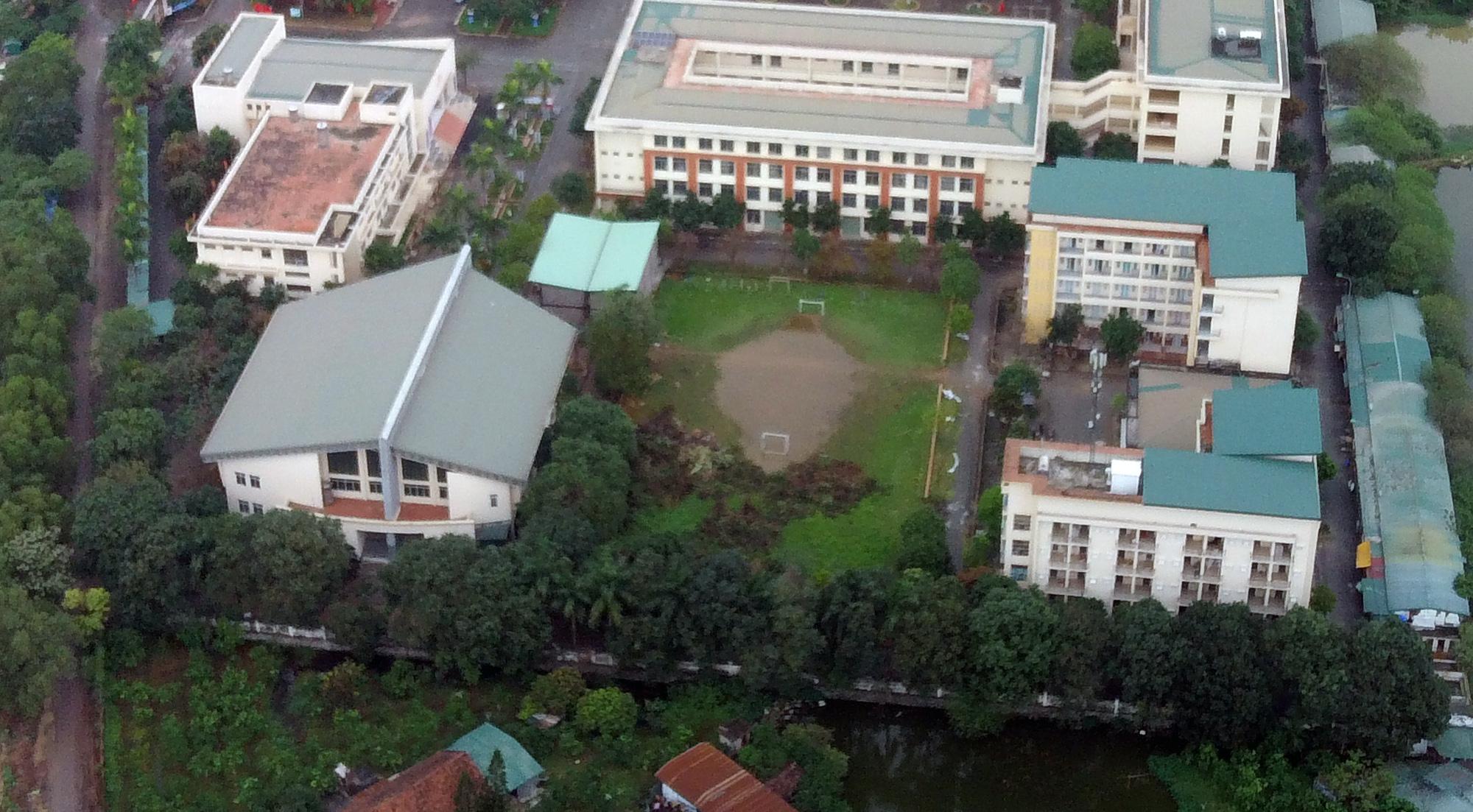 Cận cảnh khu cách li tập trung cho 800 người ở trường Cao đẳng nghề Công nghệ cao Hà Nội - Ảnh 7.