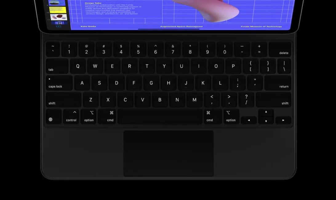 Phó chủ tịch Apple trình diễn sức mạnh iPad Pro 2020 với Magickeyboard - Ảnh 3.