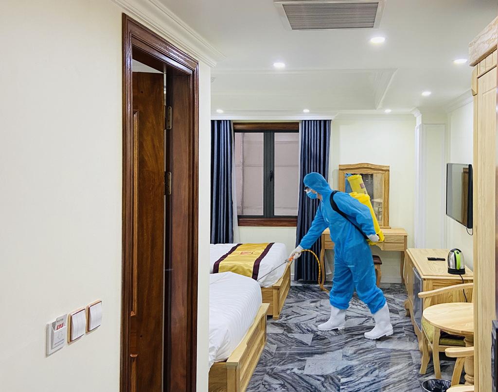 Nhiều cơ sở lưu trú tại Quảng Ninh đăng kí làm khu cách li phòng chống dịch virus corona - Ảnh 3.