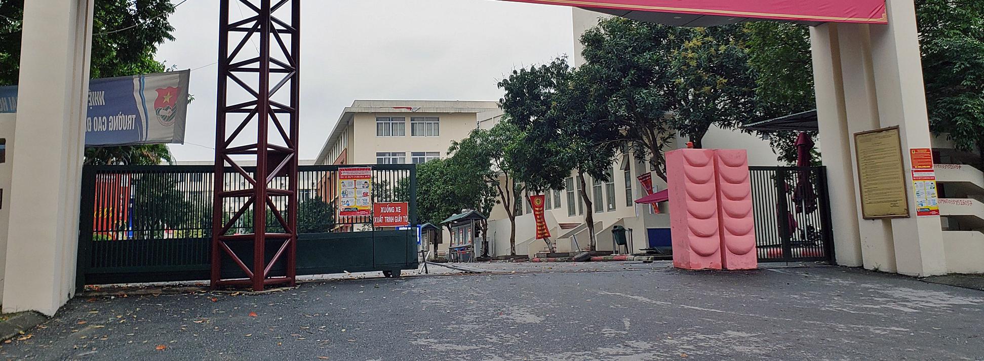 Cận cảnh khu cách li tập trung cho 800 người ở trường Cao đẳng nghề Công nghệ cao Hà Nội - Ảnh 12.