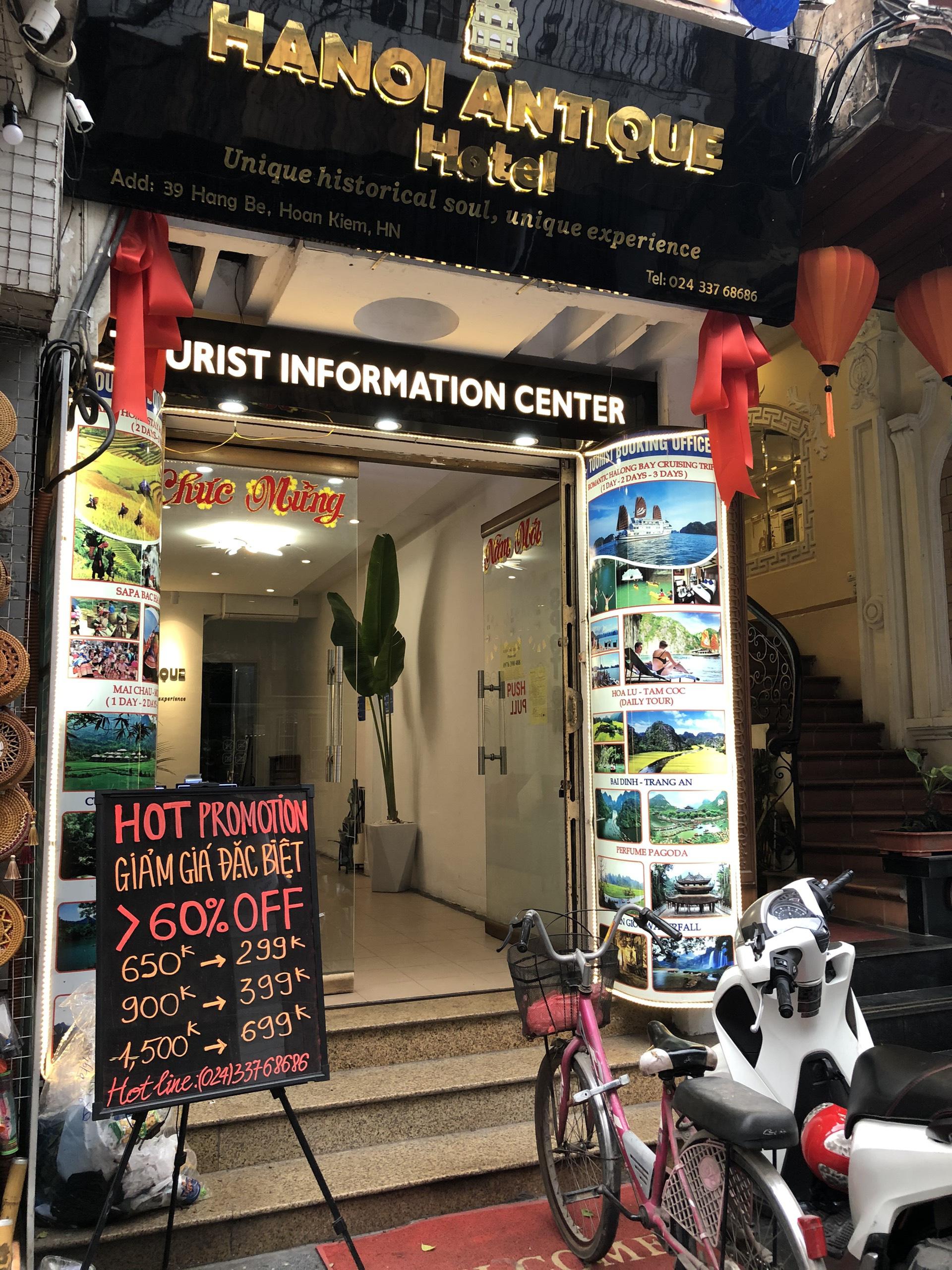 Hàng loạt khách sạn phố cổ Hà Nội đóng cửa, nhiều nơi giảm giá đến 60% để hút khách giữa mùa dịch virus corona - Ảnh 9.