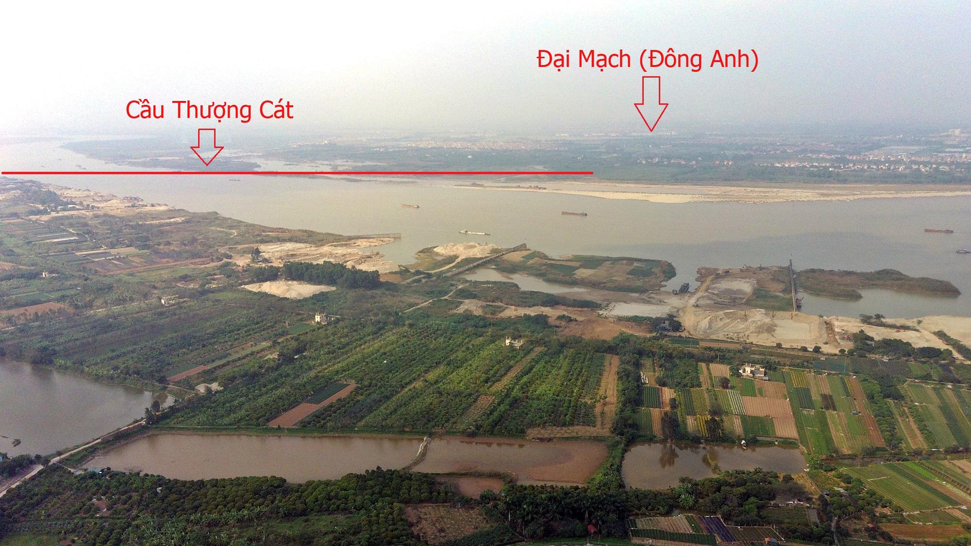 Cầu sẽ mở theo qui hoạch ở Hà Nội: Toàn cảnh cầu Thượng Cát nối Bắc Từ Liêm với Đông Anh - Ảnh 2.