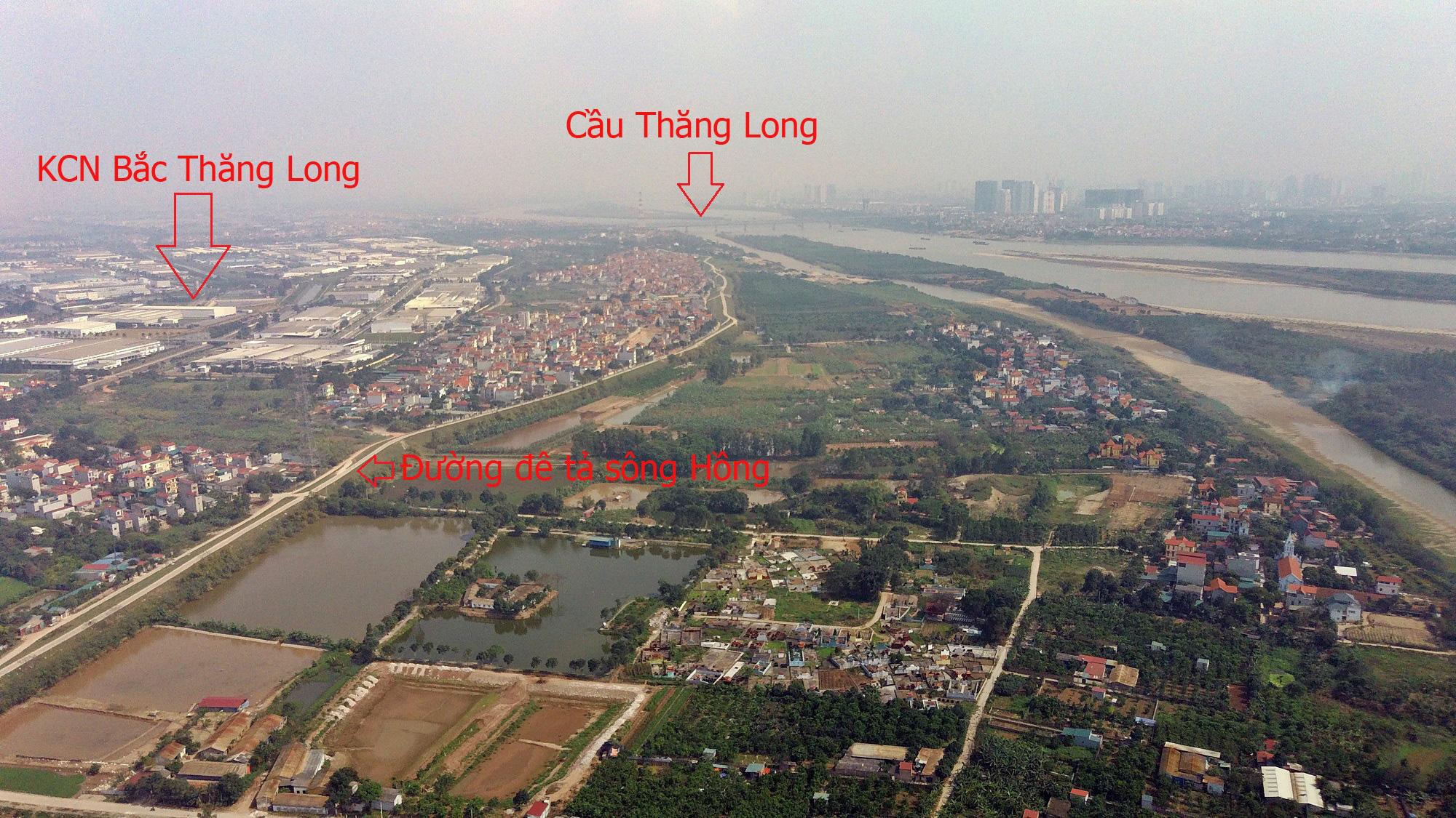 Cầu sẽ mở theo qui hoạch ở Hà Nội: Toàn cảnh cầu Thượng Cát nối Bắc Từ Liêm với Đông Anh - Ảnh 14.