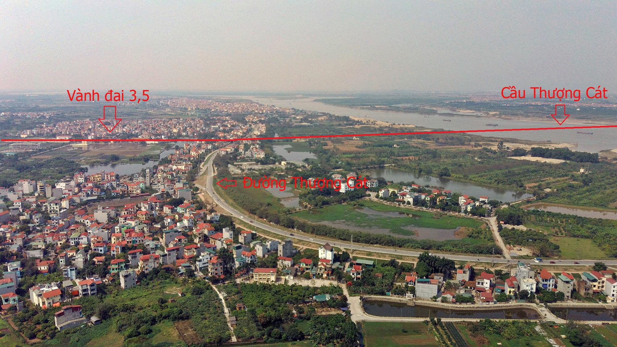 Cầu sẽ mở theo qui hoạch ở Hà Nội: Toàn cảnh cầu Thượng Cát nối Bắc Từ Liêm với Đông Anh - Ảnh 3.