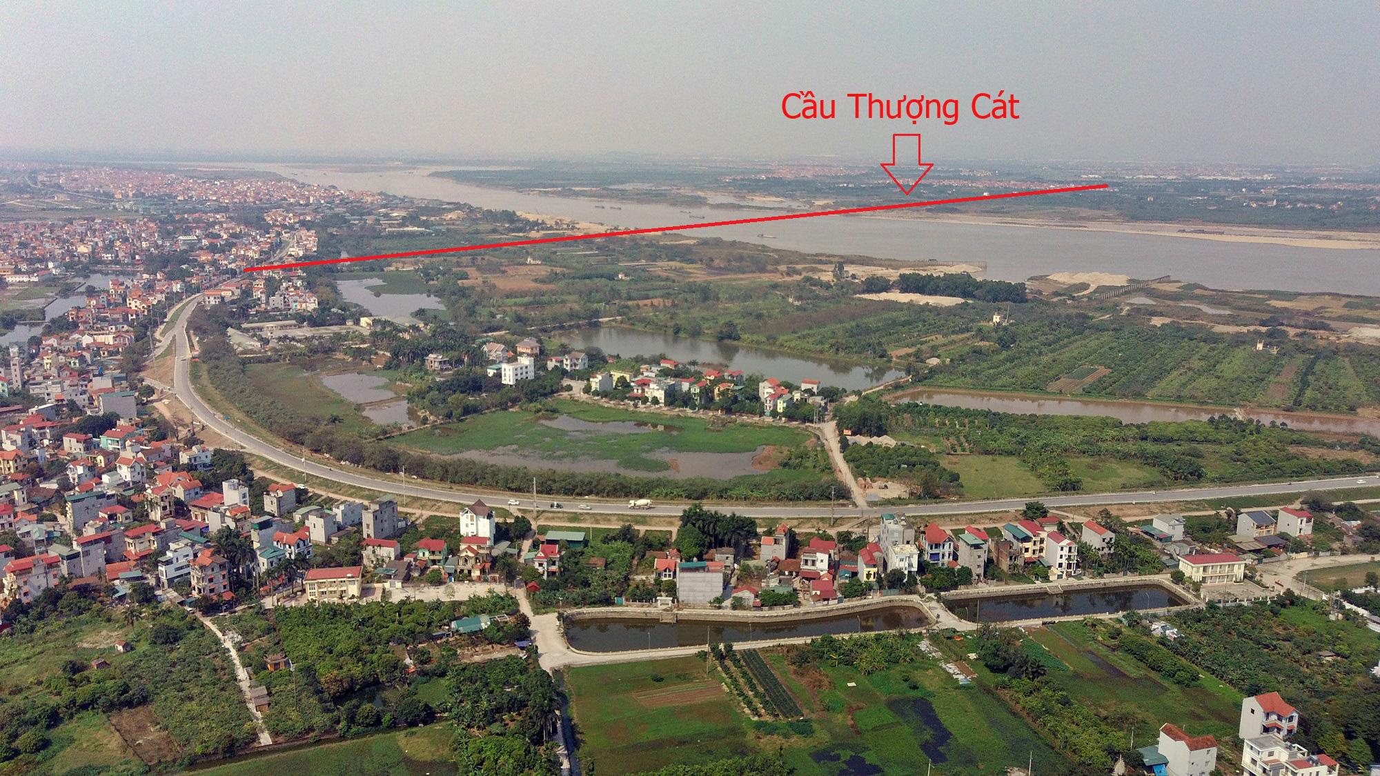 Cầu sẽ mở theo qui hoạch ở Hà Nội: Toàn cảnh cầu Thượng Cát nối Bắc Từ Liêm với Đông Anh - Ảnh 4.