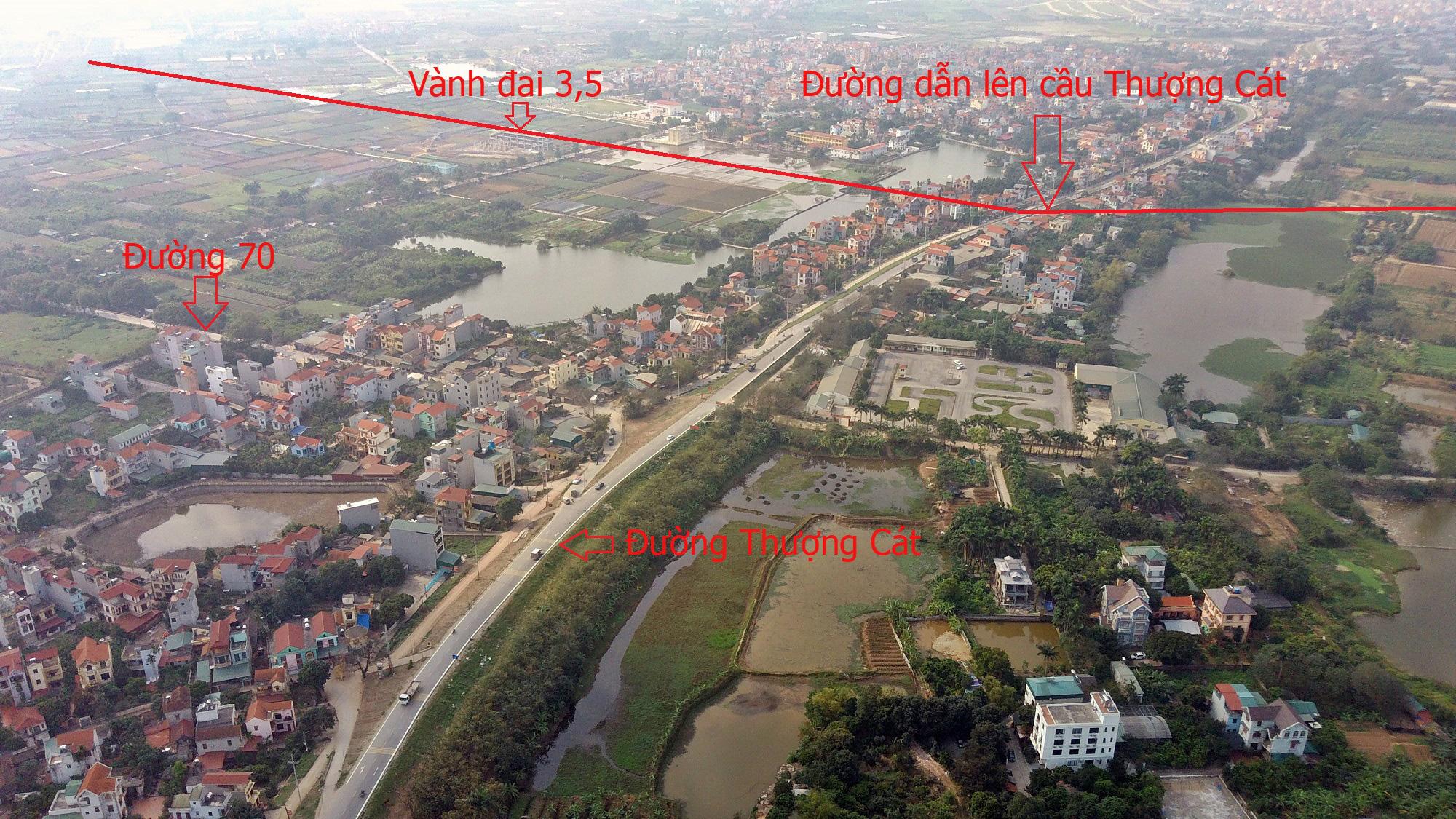 Cầu sẽ mở theo qui hoạch ở Hà Nội: Toàn cảnh cầu Thượng Cát nối Bắc Từ Liêm với Đông Anh - Ảnh 6.