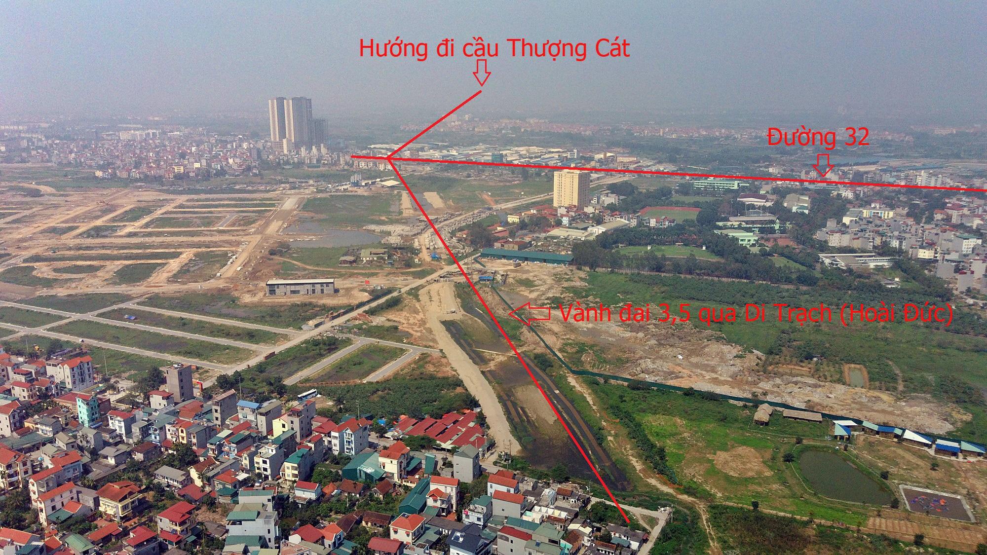 Cầu sẽ mở theo qui hoạch ở Hà Nội: Toàn cảnh cầu Thượng Cát nối Bắc Từ Liêm với Đông Anh - Ảnh 9.