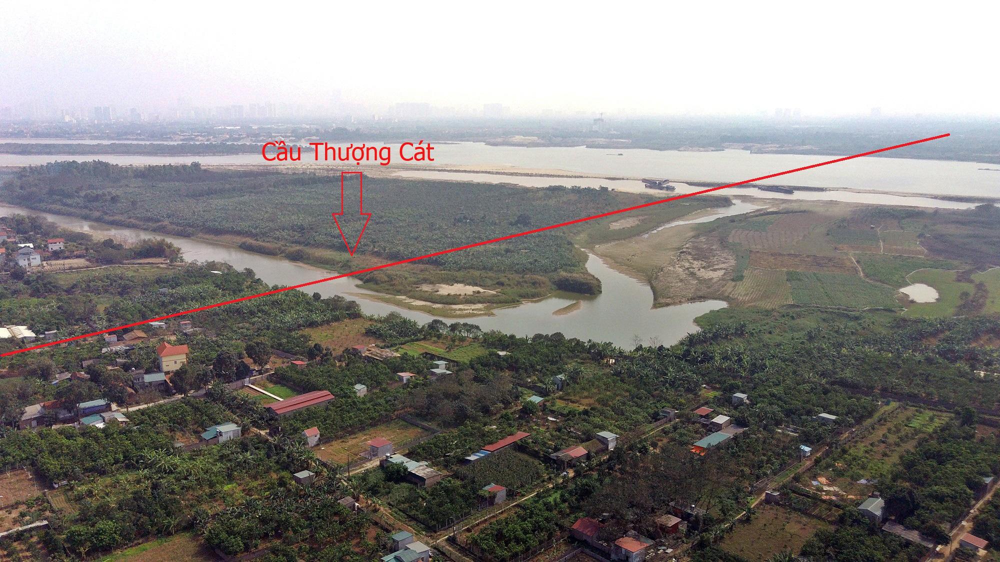 Cầu sẽ mở theo qui hoạch ở Hà Nội: Toàn cảnh cầu Thượng Cát nối Bắc Từ Liêm với Đông Anh - Ảnh 10.