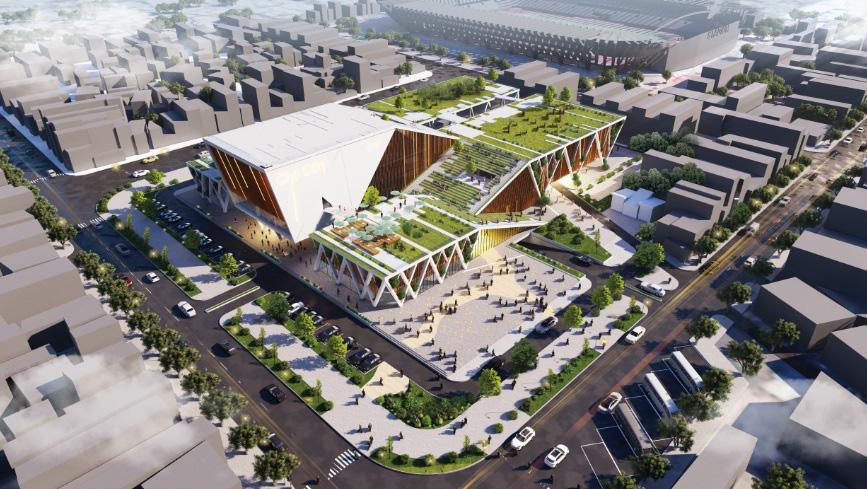 Đà Nẵng công bố các mẫu thiết kế phương án kiến trúc Chợ Cồn - Ảnh 16.