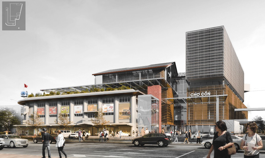 Đà Nẵng công bố các mẫu thiết kế phương án kiến trúc Chợ Cồn - Ảnh 14.
