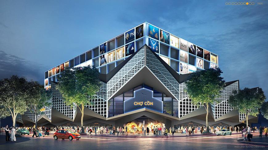 Đà Nẵng công bố các mẫu thiết kế phương án kiến trúc Chợ Cồn - Ảnh 12.