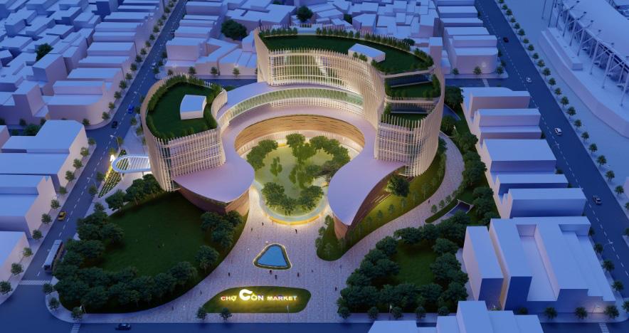 Đà Nẵng công bố các mẫu thiết kế phương án kiến trúc Chợ Cồn - Ảnh 7.
