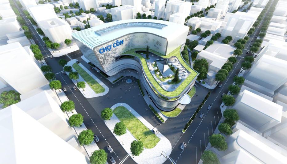Đà Nẵng công bố các mẫu thiết kế phương án kiến trúc Chợ Cồn - Ảnh 5.