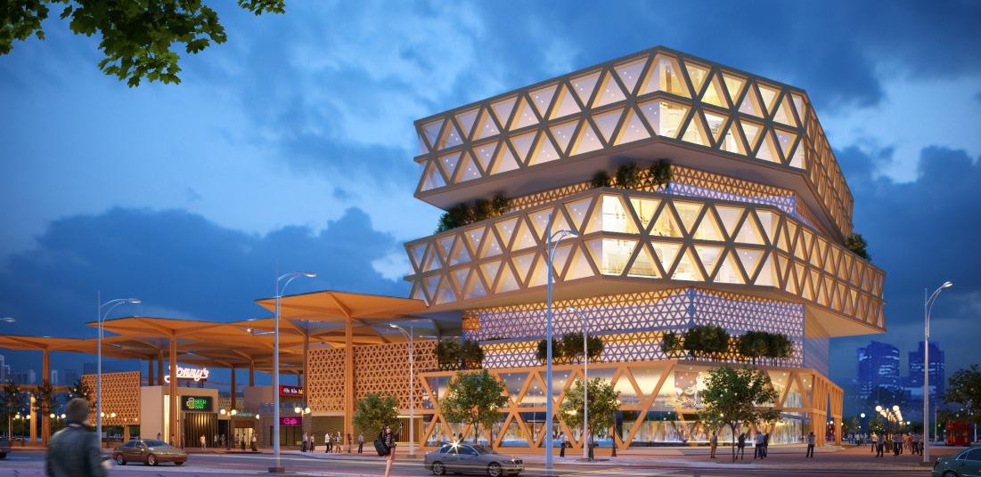 Đà Nẵng công bố các mẫu thiết kế phương án kiến trúc Chợ Cồn - Ảnh 4.