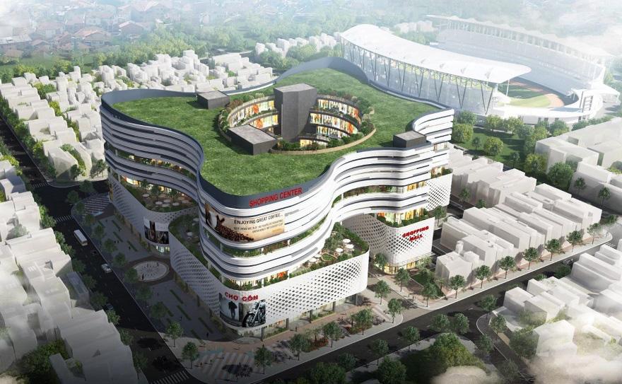 Đà Nẵng công bố các mẫu thiết kế phương án kiến trúc Chợ Cồn - Ảnh 3.