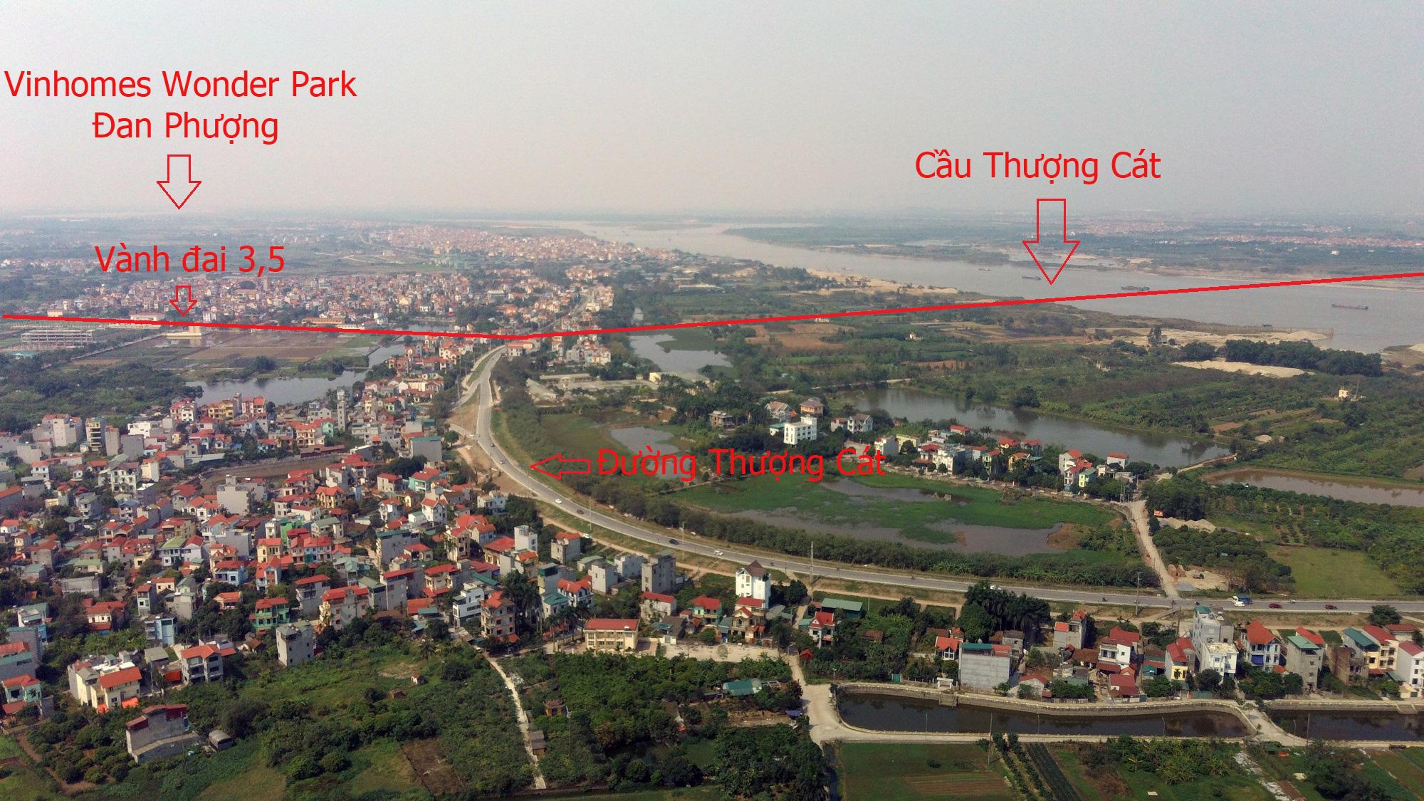 Những dự án sẽ hưởng lợi từ qui hoạch cầu Thượng Cát, Hà Nội - Ảnh 13.