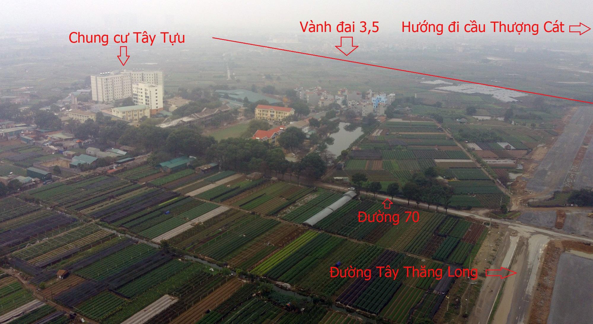 Những dự án sẽ hưởng lợi từ qui hoạch cầu Thượng Cát, Hà Nội - Ảnh 14.