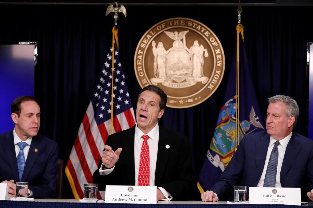 Hơn 15.000 ca nhiễm, New York trở thành tâm điểm mới của đại dịch - Ảnh 4.