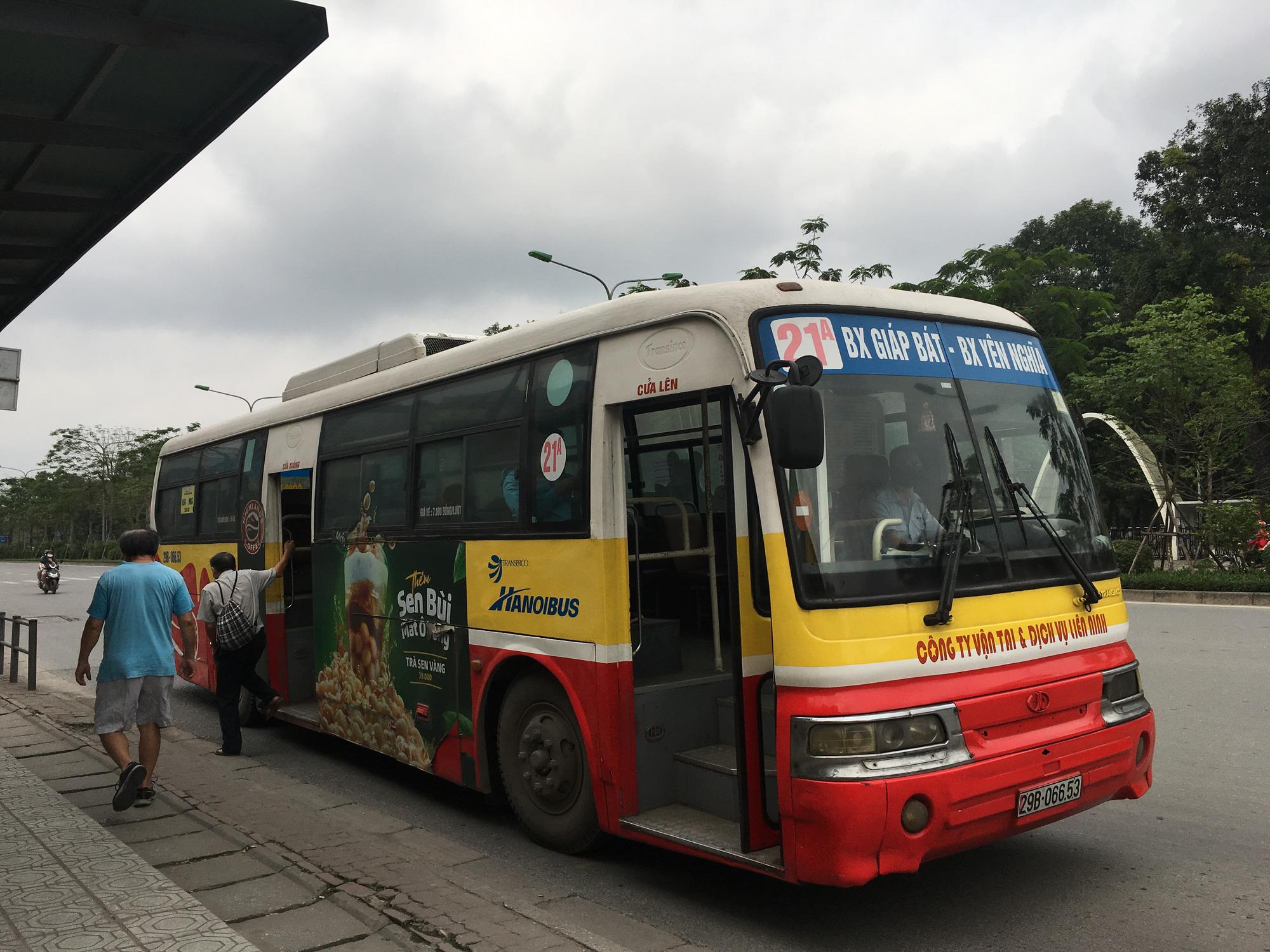 Lộ trình xe buýt 21A Hà Nội: từ bến xe Giáp Bát đi bến xe Yên Nghĩa - Ảnh 1.