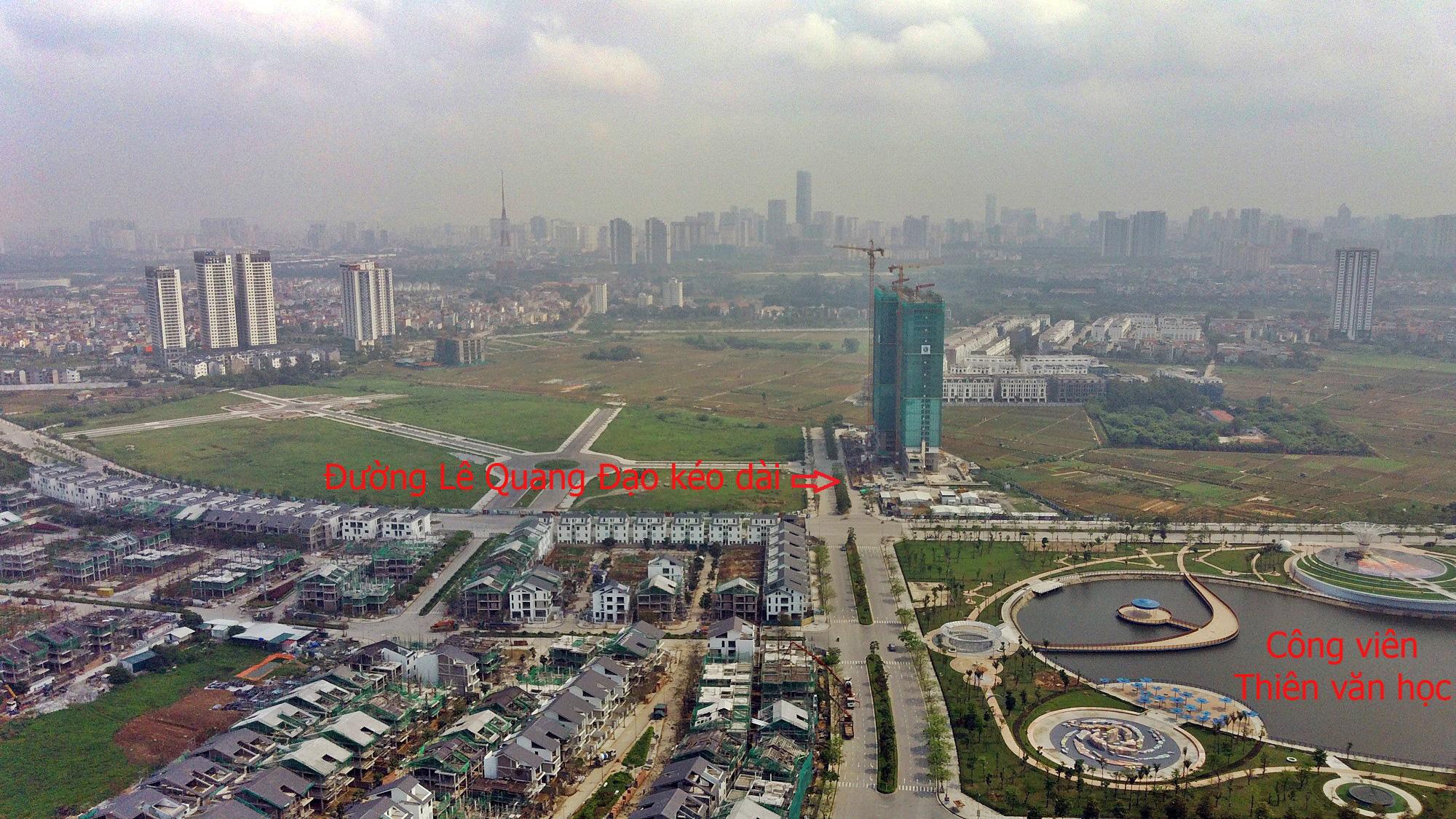 Đường sẽ mở theo qui hoạch ở Hà Nội: Toàn cảnh đường Lê Quang Đạo kéo dài qua KĐT Dương Nội - Ảnh 12.
