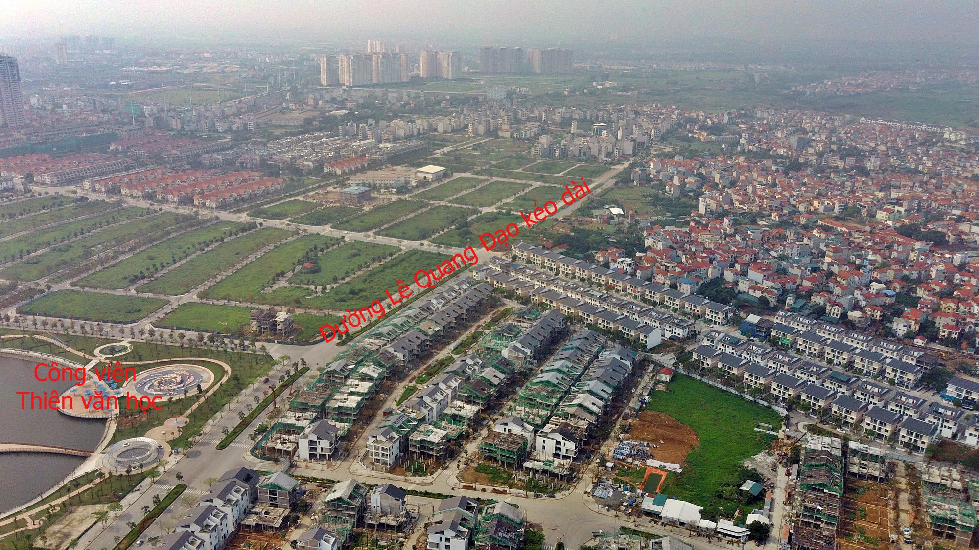 Đường sẽ mở theo qui hoạch ở Hà Nội: Toàn cảnh đường Lê Quang Đạo kéo dài qua KĐT Dương Nội - Ảnh 15.