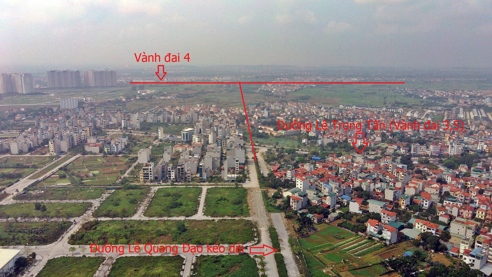 Đường sẽ mở theo qui hoạch ở Hà Nội: Toàn cảnh đường Lê Quang Đạo kéo dài qua KĐT Dương Nội - Ảnh 17.