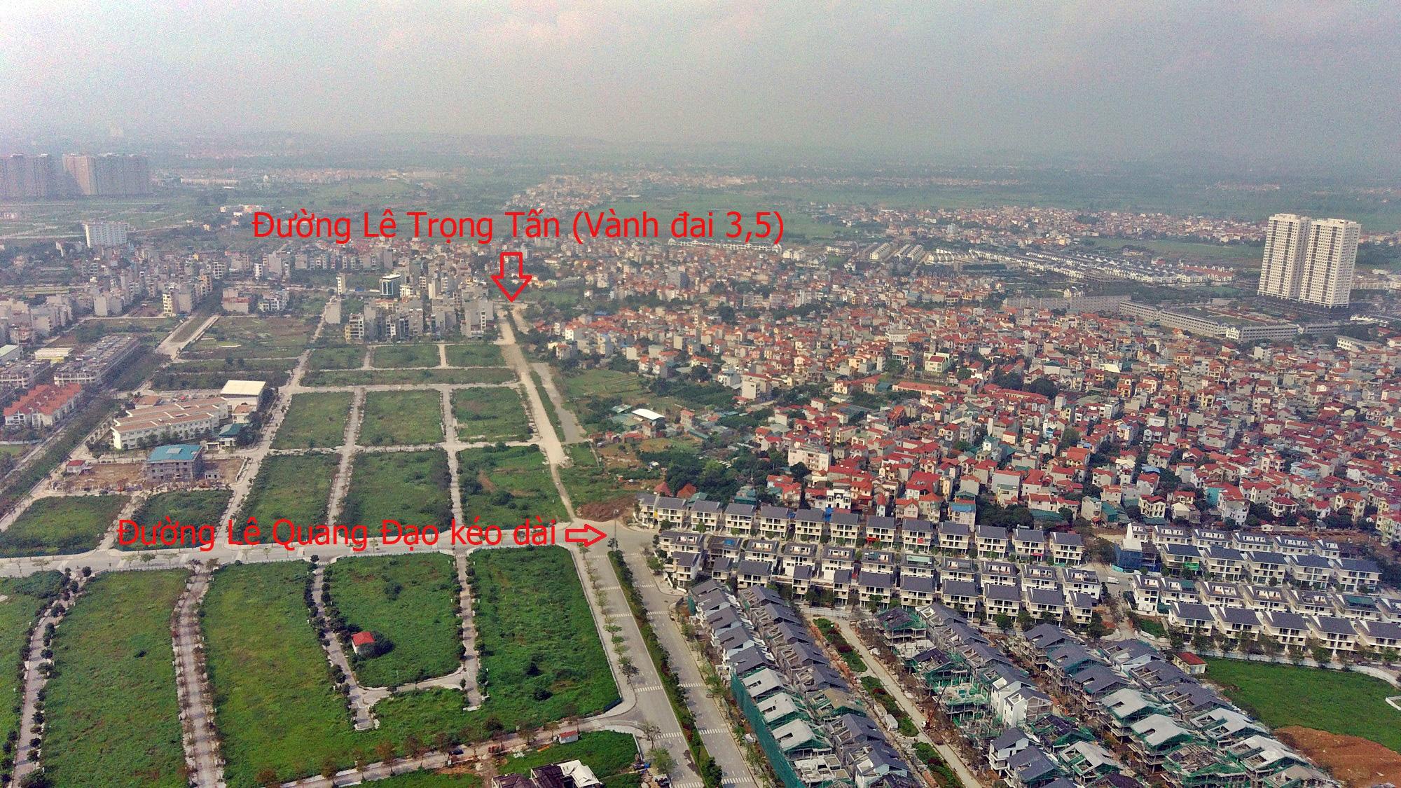 Đường sẽ mở theo qui hoạch ở Hà Nội: Toàn cảnh đường Lê Quang Đạo kéo dài qua KĐT Dương Nội - Ảnh 16.