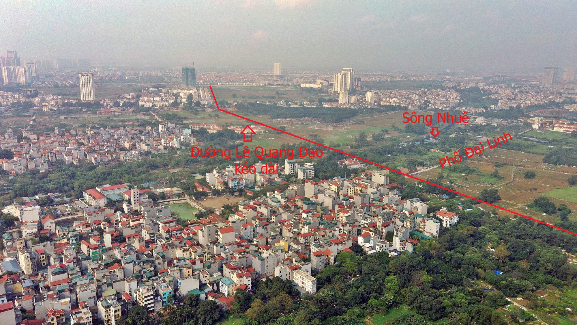 Đường sẽ mở theo qui hoạch ở Hà Nội: Toàn cảnh đường Lê Quang Đạo kéo dài qua KĐT Dương Nội - Ảnh 4.