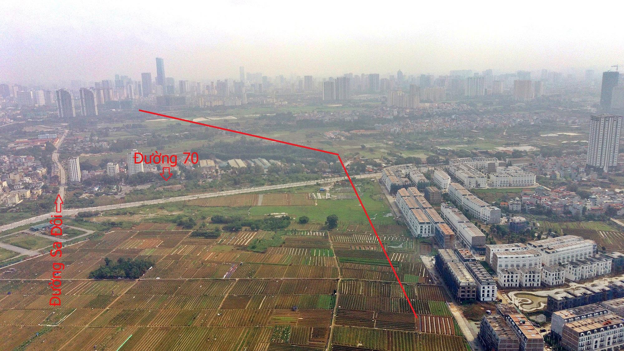 Đường sẽ mở theo qui hoạch ở Hà Nội: Toàn cảnh đường Lê Quang Đạo kéo dài qua KĐT Dương Nội - Ảnh 7.