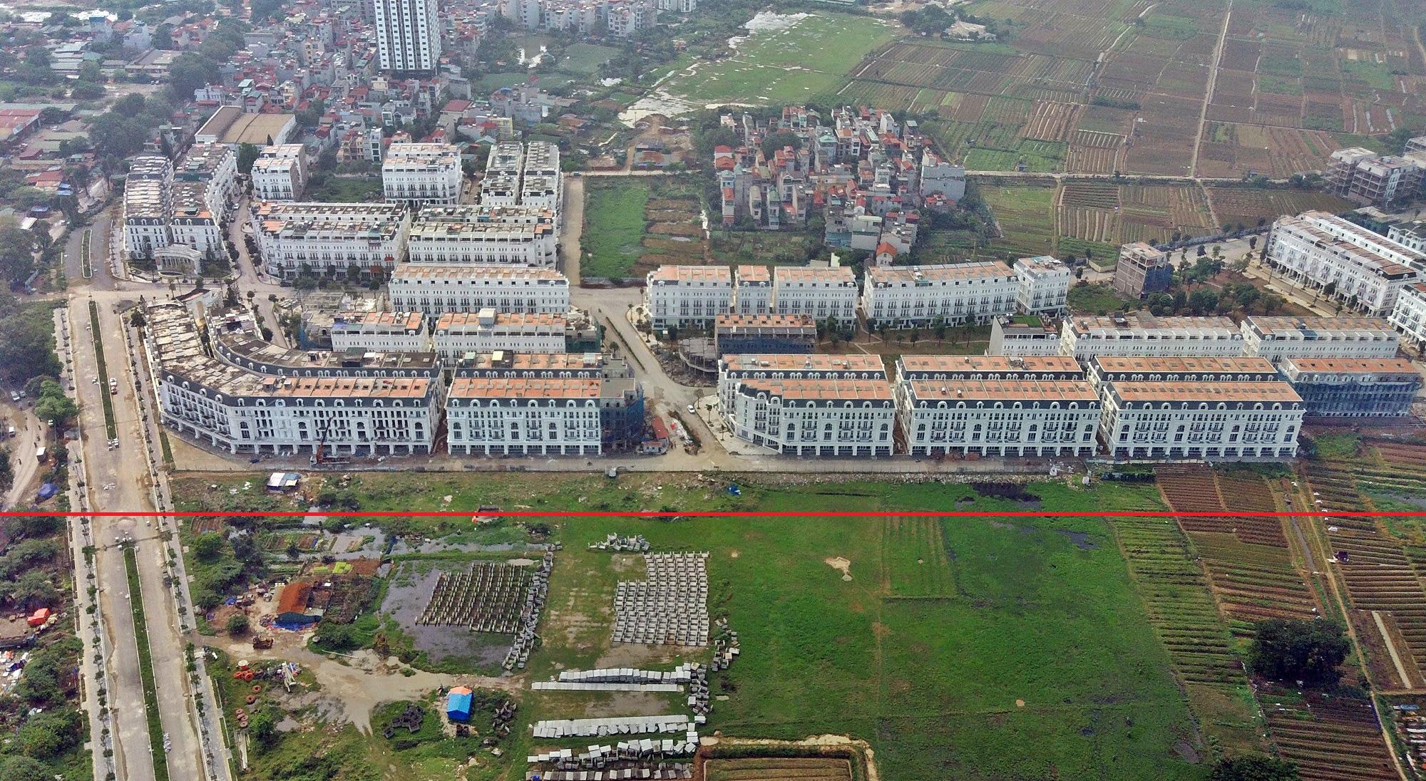 Đường sẽ mở theo qui hoạch ở Hà Nội: Toàn cảnh đường Lê Quang Đạo kéo dài qua KĐT Dương Nội - Ảnh 9.