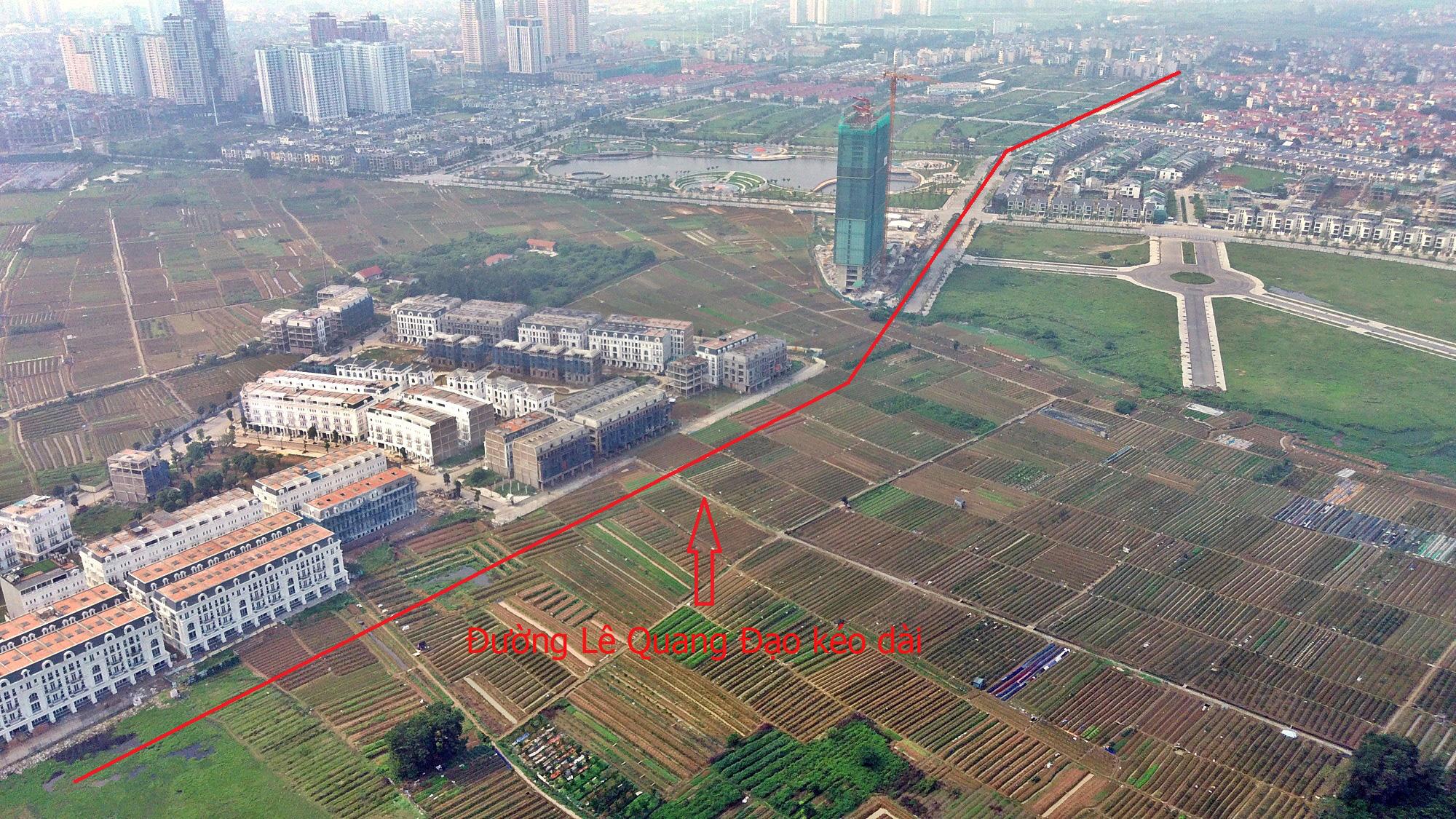 Đường sẽ mở theo qui hoạch ở Hà Nội: Toàn cảnh đường Lê Quang Đạo kéo dài qua KĐT Dương Nội - Ảnh 10.